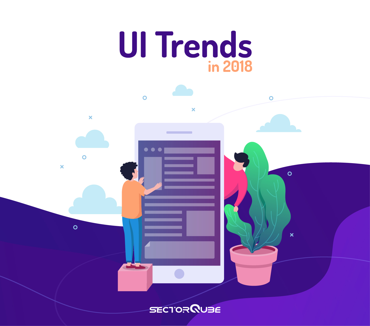 Top UI trends in 2018