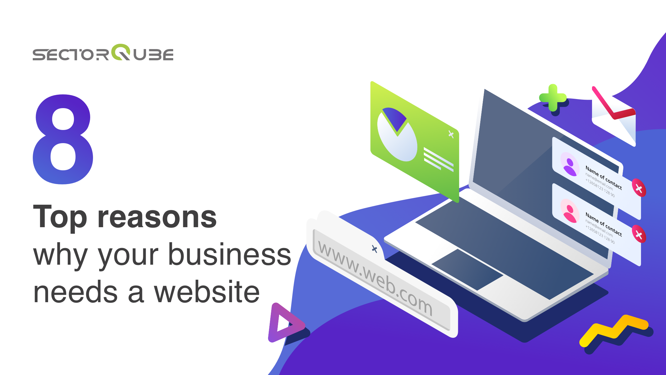 8 TOP REASONS WHY YOUR BUSINESS NEEDS A WEBSITE