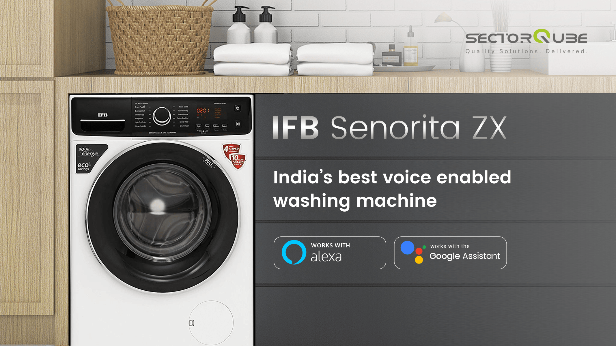 Voice-Enabled Washing Machine