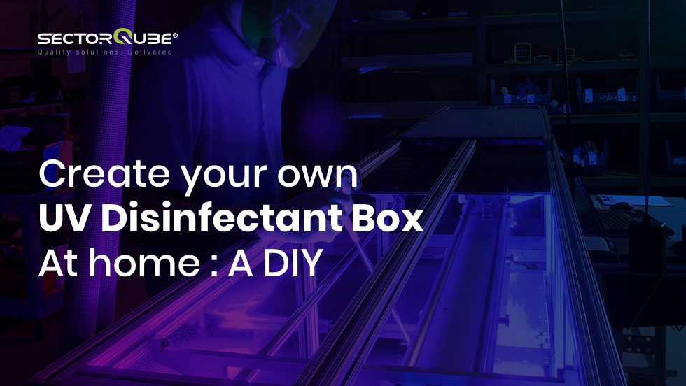 Create your own UV Disinfectant Box At home - A DIY